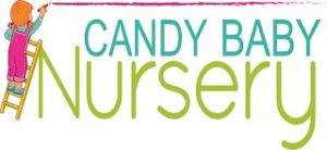 candy baby nursery logo